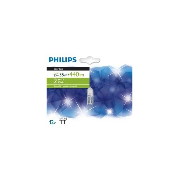 žiarovka Philips 25W GY6.35 - EcoHalo Capsule 25W GY6.35 12V CL.1BL / 10