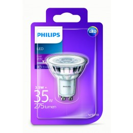 Philips LED 3,5W / 35W GU10 CW 36D ND bodová