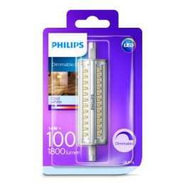 Philips LED 14W / 100W R7S CW D 118mm linear