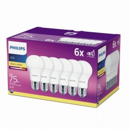 Philips 8718696586297 6x LED žiarovka 11w | E27 | 2700K - six pack