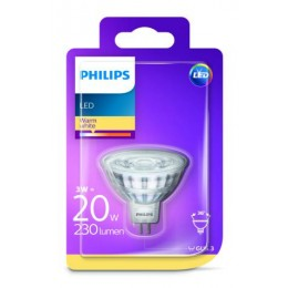 Philips LED 3W / 20W GU5,3 WW 12V 36D ND bodová
