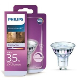 Philips LED 4W / 35W GU10 CW 36D DIM bodová
