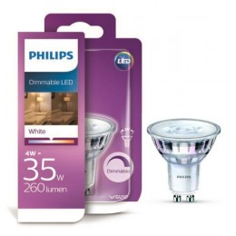 Philips LED 4W / 35W GU10 WH 36D D bodová