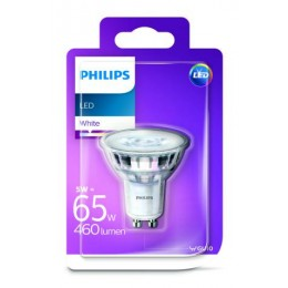 Philips LED 5W / 65W GU10 WH 36D ND bodová