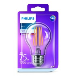 Philips LED Classic 8W / 75W E27 CW CL A60 ND