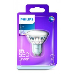 Philips LED 5W 550lm GU10 CW 120D ND bodová