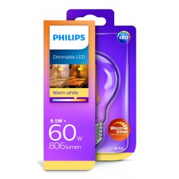 Philips LED Classic 8,5W / 60W E27 WW CL A60 WGD