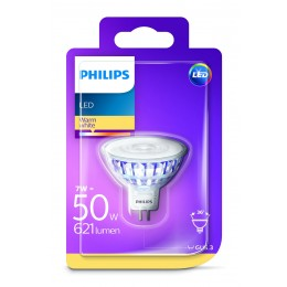 Philips LED 7W / 50W MR16 WW 12V 36D ND bodové