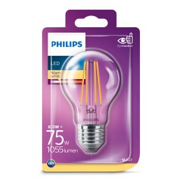 Philips 8718699648961 LED žiarovka 1x8,5W | E27 | 2700K