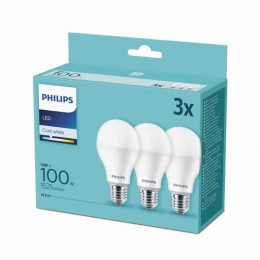 Philips 8718699694906 3x LED žiarovka 1x14W | E27 | 4000K -triple pack