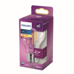 Philips 8718699761998 LED žiarovka 1x4,3W | E27 | 470lm | 2700K