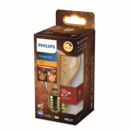 Philips 8718699774837 LED žiarovka 1x5,5W | E27 | 250lm | 2000K