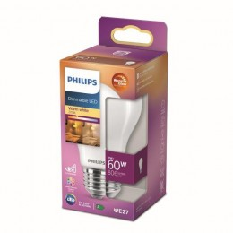 Philips 8718699780111 LED žiarovka 1x7W | E27 | 806lm | 2700K