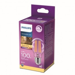 Philips 8718699788407 LED žiarovka 1x11,5W | E27 | 1521lm | 2700K