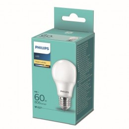 Philips 8719514257566 LED žiarovka 1x8W-60W | E27 | 806lm | 2700K