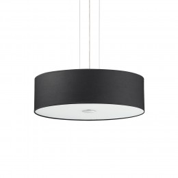 Ideal Lux 105628 luster Woody Nero 5x60W | E27