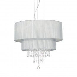 Ideal Lux 122601 luster Opera Argento 6x60W | E27