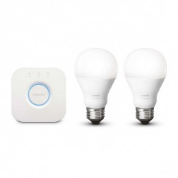 Philips Hue 8718696449554 sada 2 LED žiaroviek 1x9,5W | E27 | 2700K - White