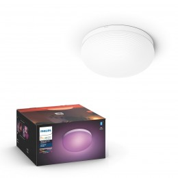 Philips Hue 40905/31 / P9 stropné svietidlo Flourish 1x32W | 2200-6500K | RGB - Bluetooth, White and Color Ambiance