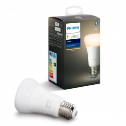 Philips Hue 8718696785317 LED žiarovka 1X9W | E27 | 2700K - Bluetooth, White