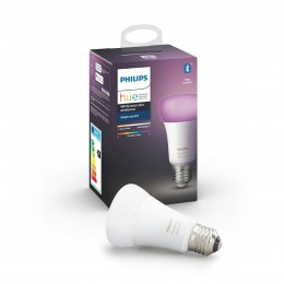 Philips Hue 8718699673109 LED žiarovka 1X9W | E27 - Bluetooth, White and Color Ambiance