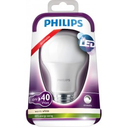 Philips 101380632 LED žiarovka 1x6W | E27 | 2700K