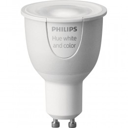 žiarovka HUE Philips 6,5 W GU10 LED - Žiarovka Philips HUE GU10 white and color ambiance